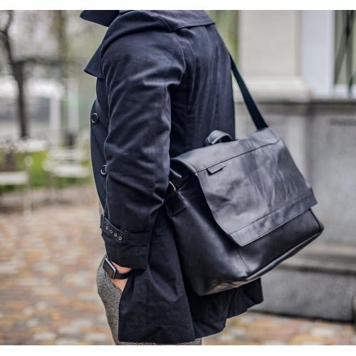 Мужские сумки из толстой кожи